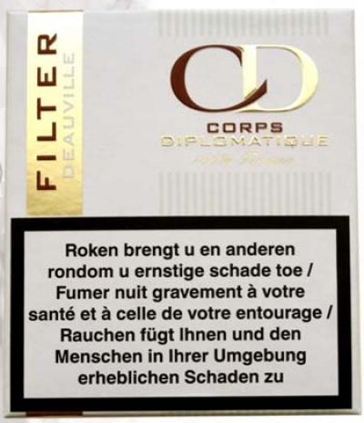 Corps Diplomatique komt met filter cigarillo
